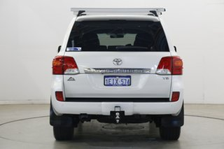 2013 Toyota Landcruiser VDJ200R MY13 Altitude White 6 Speed Sports Automatic Wagon