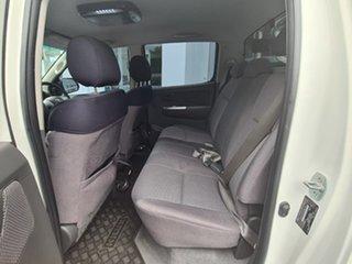 2012 Toyota Hilux SR5 White Automatic Dual Cab