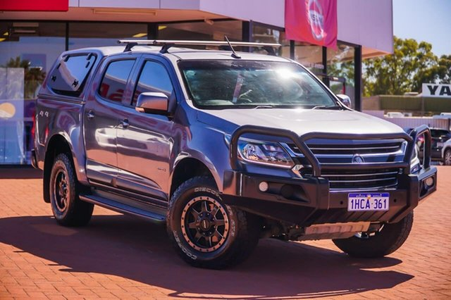 Used Holden Colorado RG MY16 LS Crew Cab Gosnells, 2016 Holden Colorado RG MY16 LS Crew Cab Grey 6 Speed Sports Automatic Utility