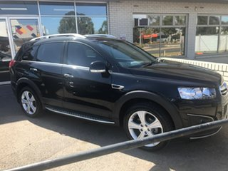 2015 Holden Captiva CG MY15 7 AWD LTZ Black 6 Speed Sports Automatic Wagon.