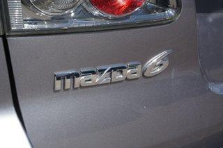 2007 Mazda 6 GY10R2 MY07 MZR-CD Silver 6 Speed Manual Wagon