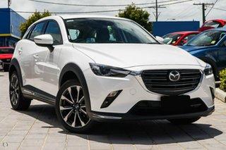 2020 Mazda CX-3 DK2W7A Akari SKYACTIV-Drive FWD White 6 Speed Sports Automatic Wagon.