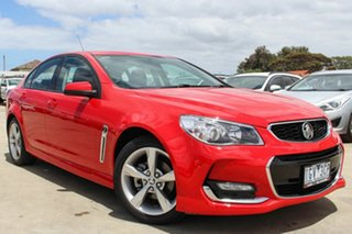 2016 Holden Commodore VF II MY16 SV6 Red 6 Speed Sports Automatic Sedan
