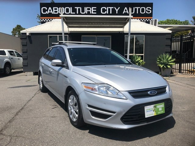 Used Ford Mondeo MC LX TDCi Morayfield, 2012 Ford Mondeo MC LX TDCi Silver 6 Speed Direct Shift Wagon
