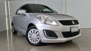2015 Suzuki Swift FZ MY15 GL Silver 4 Speed Automatic Hatchback.