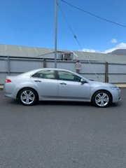 2012 Honda Accord Euro CU MY13 Luxury Navi Silver 5 Speed Automatic Sedan.