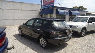 2008 Mazda 3 BK10F2 MY08 Maxx Sport Black 4 Speed Sports Automatic Hatchback.