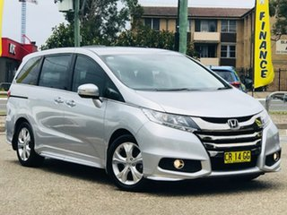 2018 Honda Odyssey RC MY18 VTi Silver 7 Speed Constant Variable Wagon.