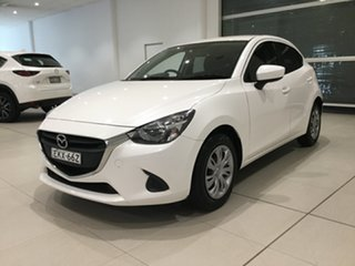 2015 Mazda 2 DJ2HA6 Neo SKYACTIV-MT White 6 Speed Manual Hatchback