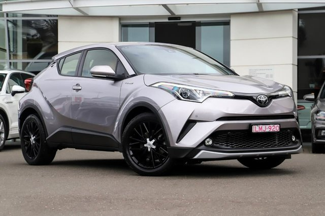 Used Toyota C-HR NGX50R S-CVT AWD Sutherland, 2017 Toyota C-HR NGX50R S-CVT AWD Silver, Chrome 7 Speed Constant Variable Wagon