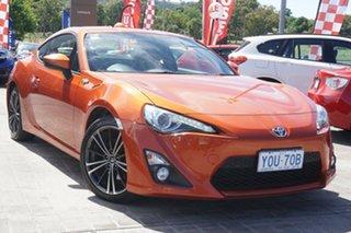 2015 Toyota 86 ZN6 GTS Orange 6 Speed Manual Coupe.
