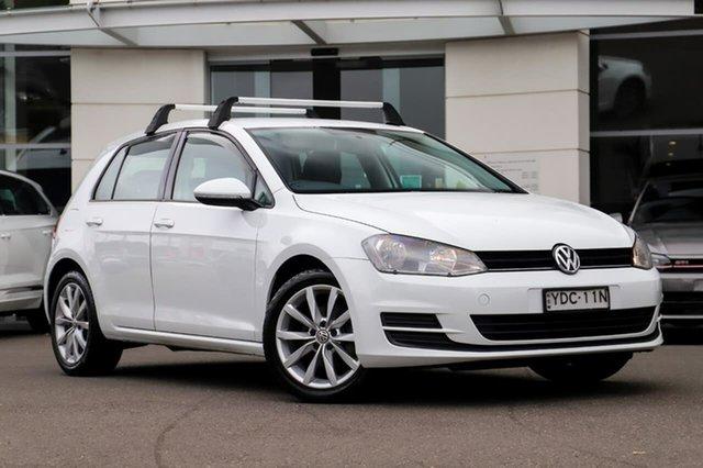Used Volkswagen Golf VII MY15 90TSI Sutherland, 2014 Volkswagen Golf VII MY15 90TSI White 6 Speed Manual Hatchback