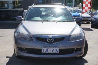2007 Mazda 6 GY10R2 MY07 MZR-CD Silver 6 Speed Manual Wagon.