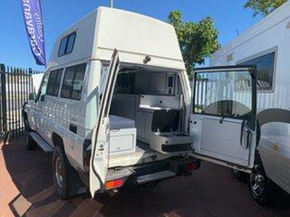 2011 Workmate Troopcarrier Toyota Landcruiser White Motor Camper