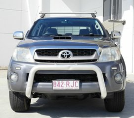 2011 Toyota Hilux KUN26R MY10 SR5 Grey 4 Speed Automatic Utility.
