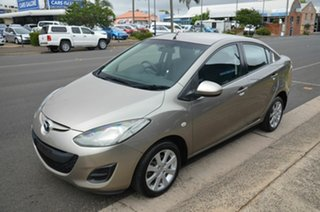 2010 Mazda 2 DE MY10 Maxx Gold 4 Speed Automatic Sedan
