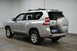 2017 Toyota Landcruiser Prado GDJ150R GXL Silver 6 Speed Sports Automatic Wagon.