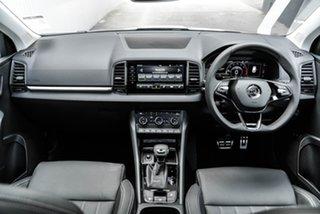 2020 Skoda Karoq NU MY21 110TSI FWD Black 8 Speed Automatic Wagon.