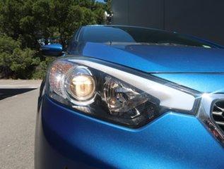 2014 Kia Cerato YD MY14 SI Blue 6 Speed Sports Automatic Sedan.