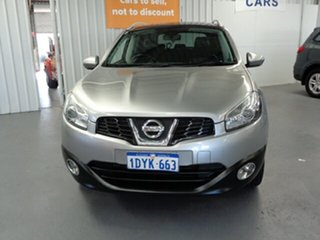 2011 Nissan Dualis J10 Series II MY2010 +2 Hatch X-tronic Ti Silver 6 Speed Constant Variable
