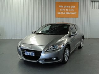 2012 Honda CRZ ZF MY12 Sport Grey 6 Speed Manual Coupe Hybrid.
