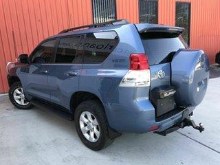 2010 Toyota Landcruiser Prado GRJ150R GXL Blue 5 Speed Sports Automatic Wagon.