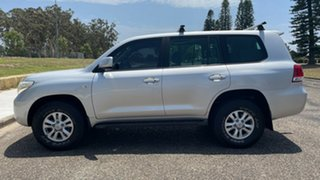 2007 Toyota Landcruiser UZJ200R VX Silver 5 Speed Sports Automatic Wagon