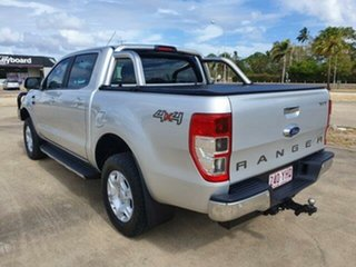 2018 Ford Ranger PX MkII 2018.00MY XLT Double Cab Silver 6 Speed Sports Automatic Utility