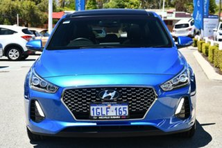 2018 Hyundai i30 PD MY18 SR D-CT Premium Blue 7 Speed Sports Automatic Dual Clutch Hatchback