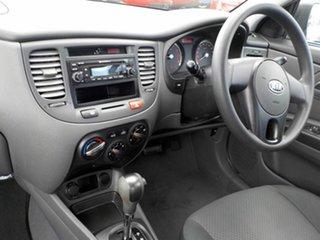 2010 Kia Rio JB MY10 SI Silver 4 Speed Automatic Sedan