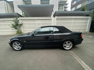 2002 BMW 3 Series E46 MY2002 330Ci Steptronic Black 5 Speed Sports Automatic Convertible