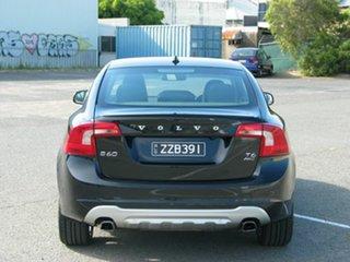 2014 Volvo S60 F MY14 T6 R-Design Black 6 Speed Automatic Sedan