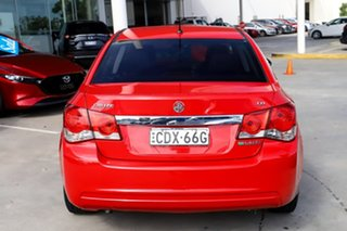 2011 Holden Cruze JH Series II MY11 CD Red 6 Speed Manual Sedan