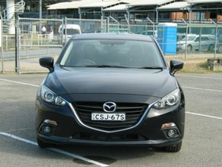 2013 Mazda 3 BM SP25 Black 6 Speed Manual Sedan.
