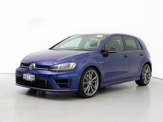 2015 Volkswagen Golf AU MY16 R Wolfsburg Edition Blue 6 Speed Direct Shift Hatchback.