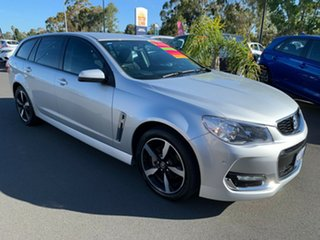 2017 Holden Commodore VF II MY17 SV6 Sportwagon Silver 6 Speed Sports Automatic Wagon