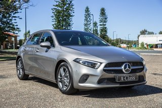 2019 Mercedes-Benz A-Class W177 800MY A180 DCT Mojave Silver 7 Speed Sports Automatic Dual Clutch