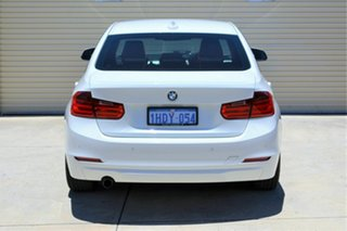 2013 BMW 3 Series F30 MY0813 316i White 8 Speed Automatic Sedan
