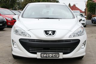 2010 Peugeot 308 Sportium White 6 Speed Automatic Hatchback