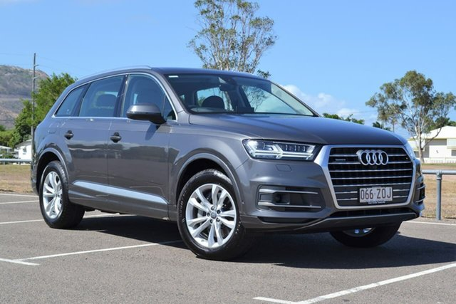 Used Audi Q7 4M MY19 50 TDI Tiptronic Quattro Mundingburra, 2019 Audi Q7 4M MY19 50 TDI Tiptronic Quattro Grey 8 Speed Sports Automatic Wagon