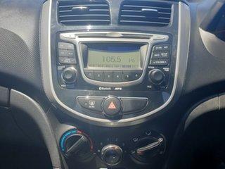 2011 Hyundai Accent RB Elite Sleek Silver 5 Speed Manual Hatchback