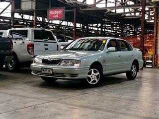 2003 Toyota Avalon MCX10R Mark II Advantage Limited Edition Conquest Silver 4 Speed Automatic Sedan.