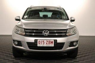 2015 Volkswagen Tiguan 5N MY16 132TSI DSG 4MOTION Silver 7 speed Automatic Wagon.
