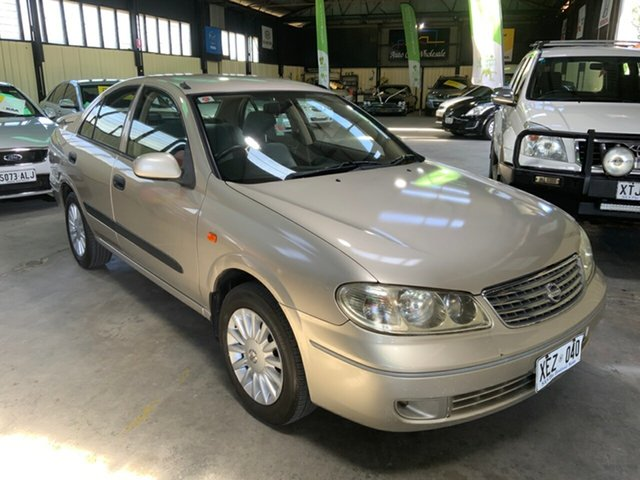 Used Nissan Pulsar N16 MY2004 ST Hampstead Gardens, 2004 Nissan Pulsar N16 MY2004 ST Gold 4 Speed Automatic Sedan