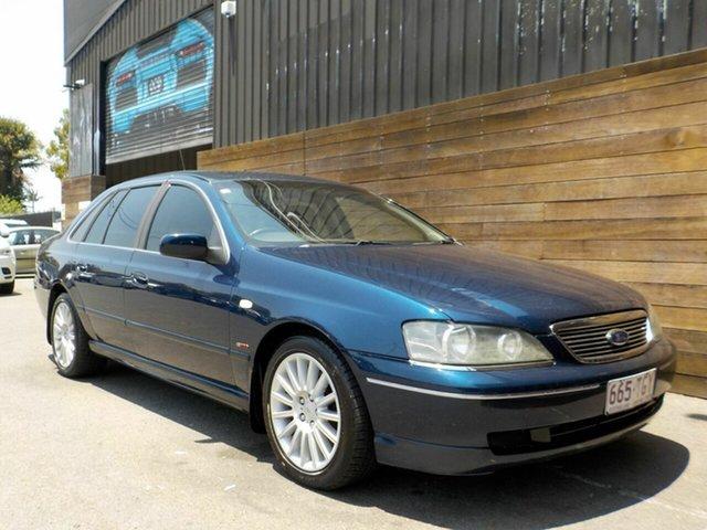 Used Ford Fairlane BA G220 Labrador, 2003 Ford Fairlane BA G220 Blue 4 Speed Sports Automatic Sedan