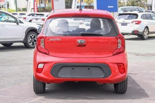2018 Kia Picanto JA MY19 S Red 4 Speed Automatic Hatchback