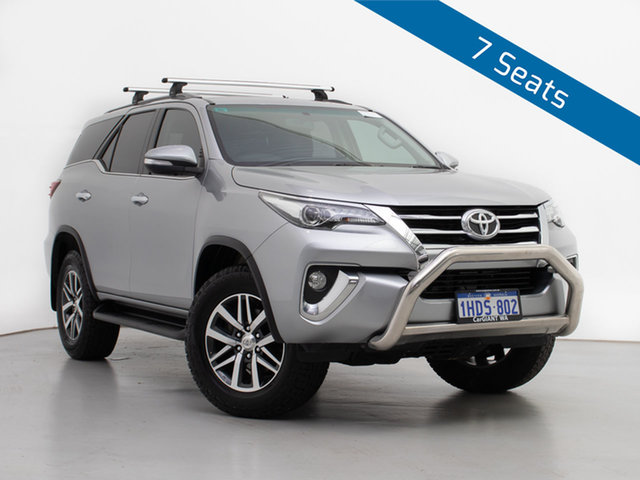 Used Toyota Fortuner GUN156R Crusade, 2016 Toyota Fortuner GUN156R Crusade Silver 6 Speed Automatic Wagon