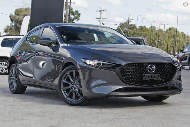 New Mazda 3 BP2HLA G25 SKYACTIV-Drive GT Waitara, 2020 Mazda 3 BP2HLA G25 SKYACTIV-Drive GT Grey 6 Speed Sports Automatic Hatchback