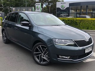 2018 Skoda Rapid NH MY18.5 Spaceback DSG Grey 7 Speed Sports Automatic Dual Clutch Hatchback.