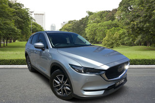 2017 Mazda CX-5 KF4WLA Akera SKYACTIV-Drive i-ACTIV AWD Billet Silver 6 Speed Sports Automatic Wagon.